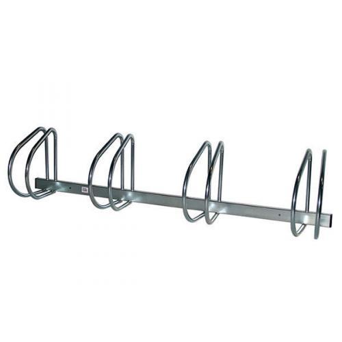 vfm aluminium wall floor mounted 4 bike cycle rack 320079