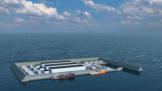Denmark Greenlights North Sea Energy Island Hub