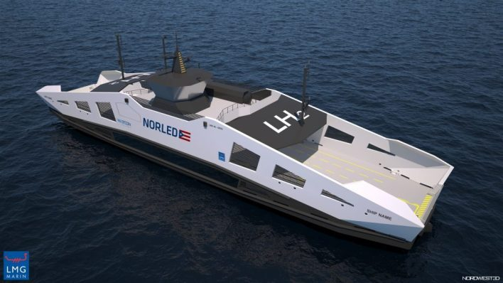Construction of world's 1st hydrogen-powered ferry completed - Offshore Energy