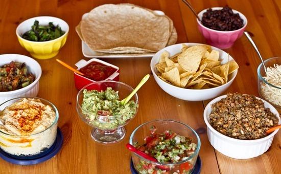 Image result for mexican fajita feast