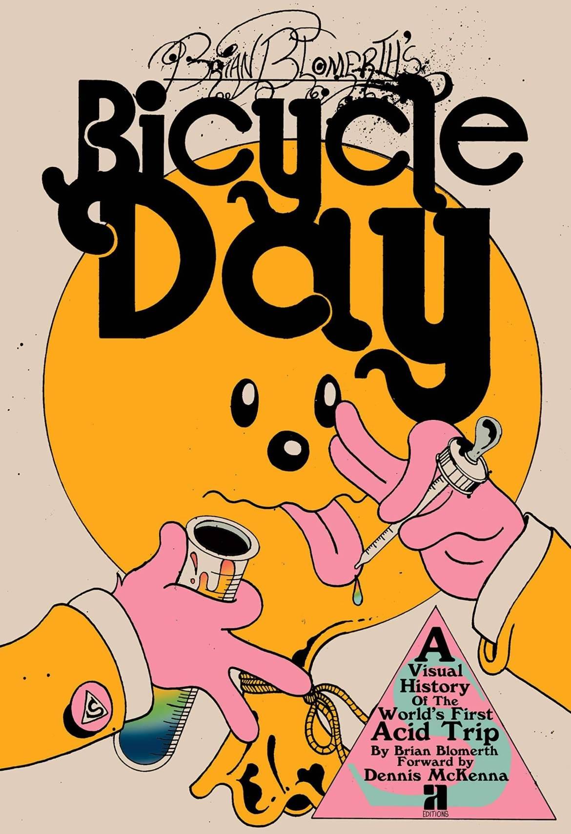 Día de bicicleta, ilustración de brian blomerth