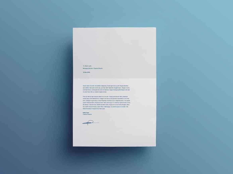 carta de presentación de split, plantilla gratuita para curriculum vitae