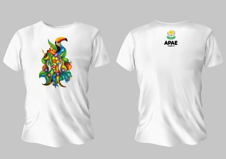 Campanha de venda de camisetas em prol da Apae será lançada na próxima semana - O Livre