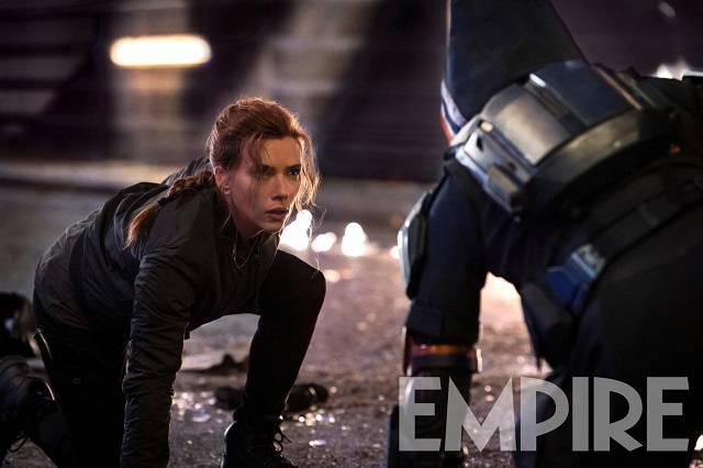 Scarlett Johansson como Viúva Negra (via revista Empire)