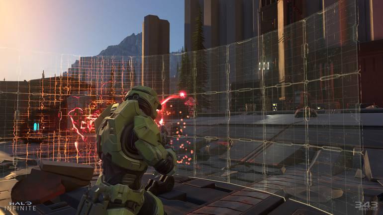 Barrier in Halo Infinite.