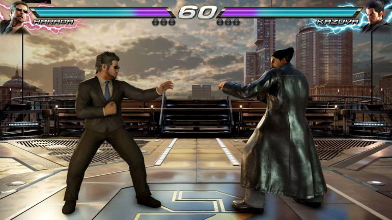 Harada em Tekken