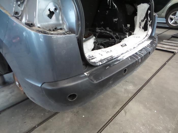 Peugeot 207 Pare Chocs Arriere Pieces De Voiture