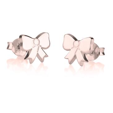 Boucles d'Oreilles Clous Nœud Papillon