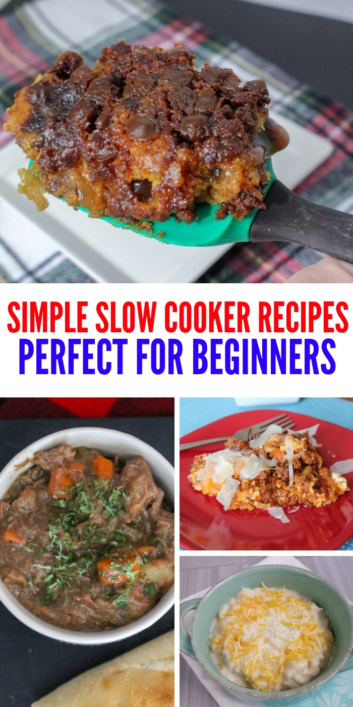 These slow cooker recipes are simple and easy to make. Perfect for lunch, dinner or dessert, you can rest easy knowing that every bite will be amazing! #slowcookerrecipes #onecrazyhouse #dinner #crockpot #easyrecipes