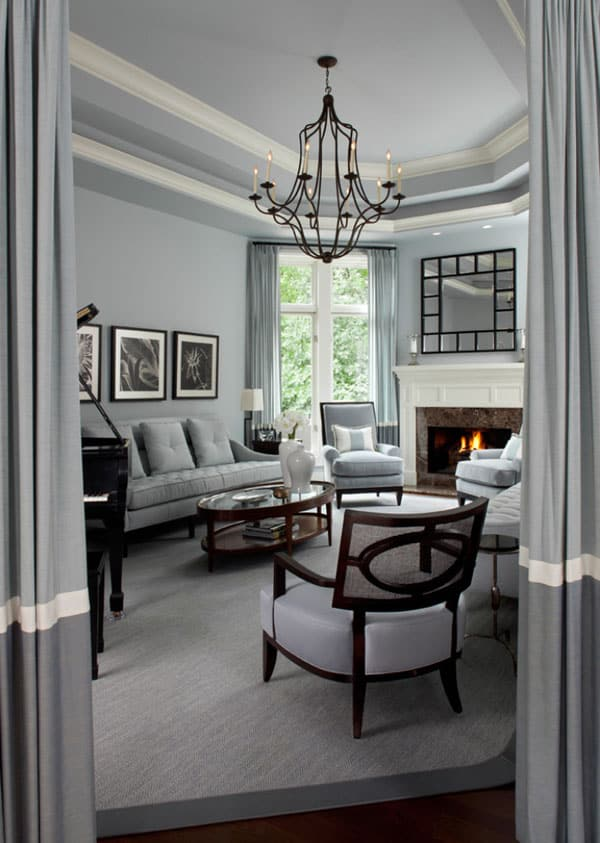 51 Modern and fresh interiors showcasing gray paint Gray Interior Paint Ideas 25 1 Kindesign