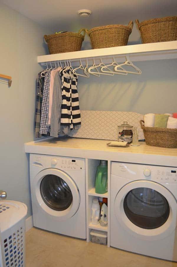 Small Laundry Room Design Ideas-18-1 Kindesign