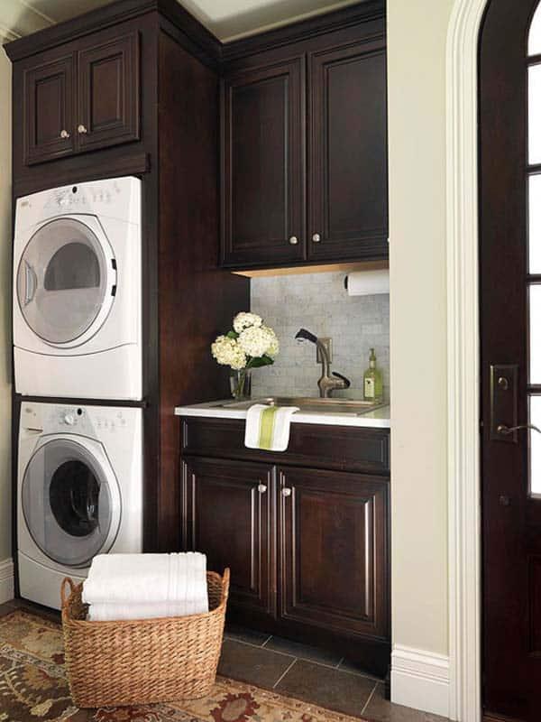 Small Laundry Room Design Ideas-31-1 Kindesign