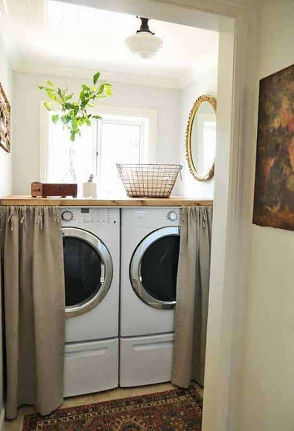 Small Laundry Room Design Ideas-34-1 Kindesign