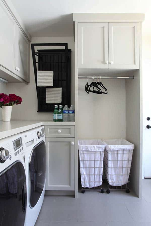 Small Laundry Room Design Ideas-38-1 Kindesign