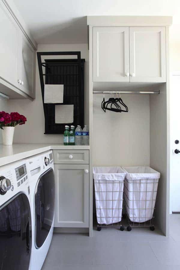 Small Laundry Room Design Ideas-38-1 Kindesign