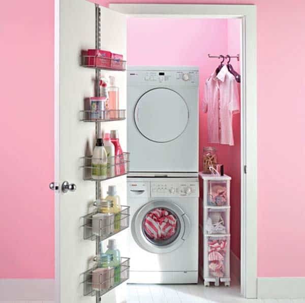 Small Laundry Room Design Ideas-48-1 Kindesign