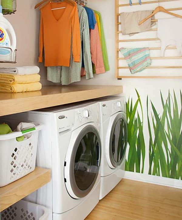 Small Laundry Room Design Ideas-51-1 Kindesign