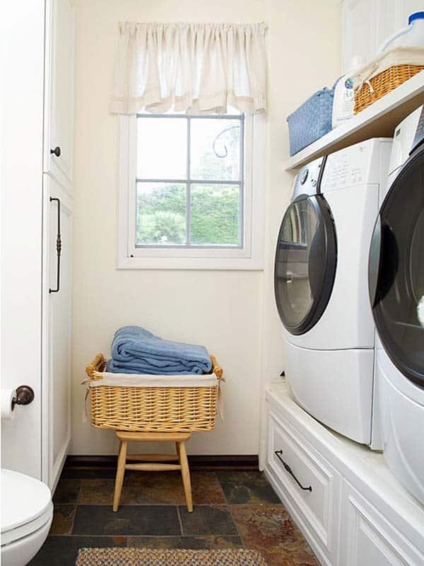 Small Laundry Room Design Ideas-56-1 Kindesign