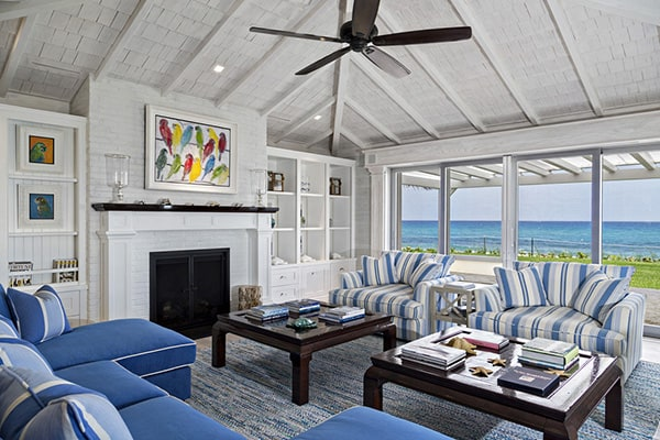 Exhilarating Florida Beach Cottage With Playful Design Details