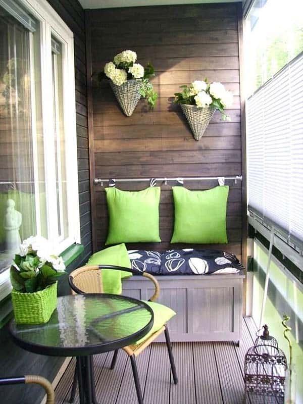 55 Super Cool And Breezy Small Balcony Design Ideas