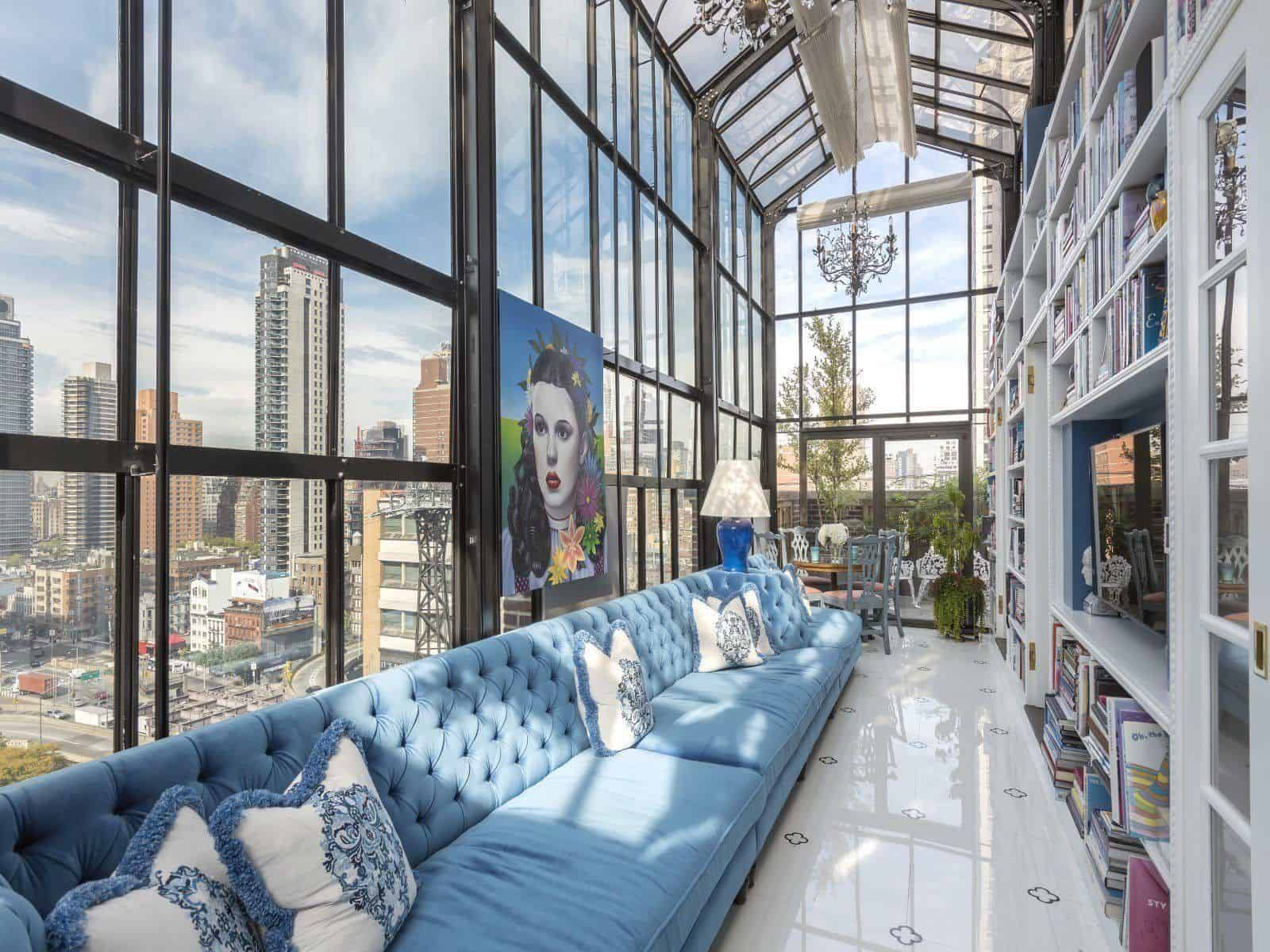 Extraordinary Pre War Penthouse Overlooking New York City
