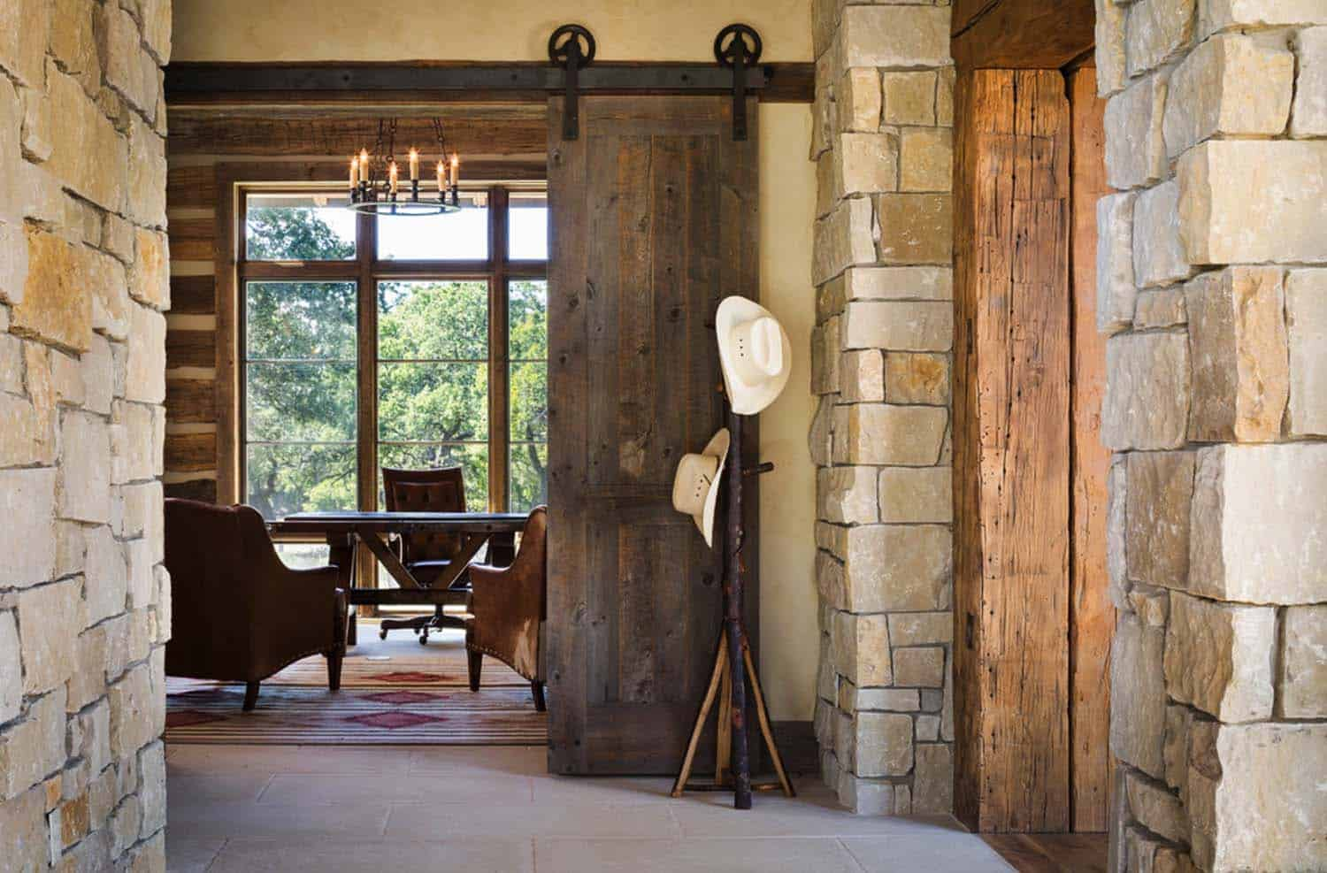 Modern Rustic Barn Style Retreat In Texas Hill Country