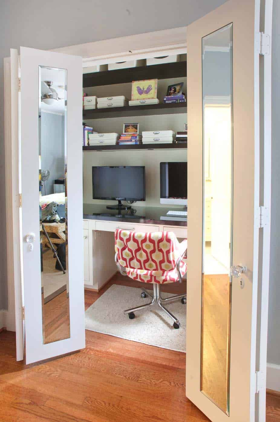 ideas for a home office in the bedroom