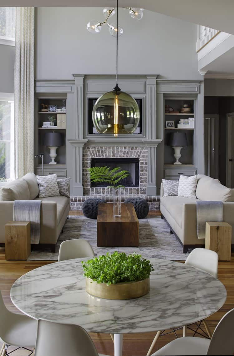 60 Most Incredible Living Rooms Featured On One Kindesign