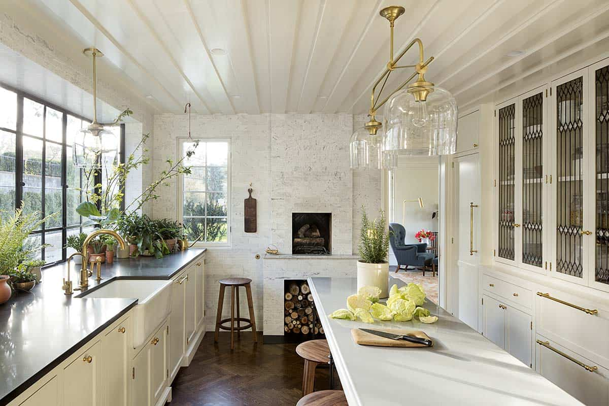Best Kitchen Gallery: Historic Residence In Portland Gets Modern Update With A Twist of Modern Home Renovation  on rachelxblog.com