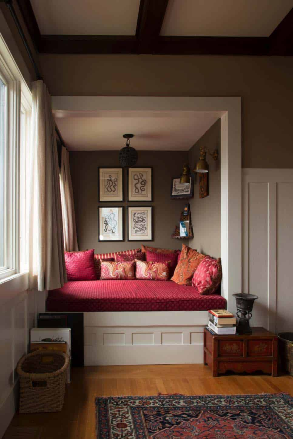 30 Incredibly Cozy Built In Reading Nooks Designed For