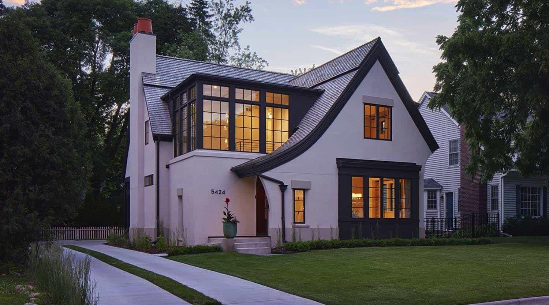 Modern Scottish Cottage In Minnesota Radiates With Stylish