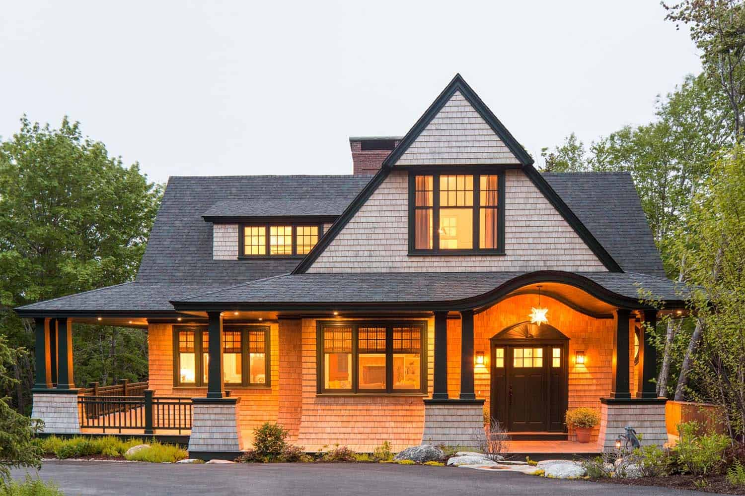 Shingle Style Cottage In The Seaside Village Of Seal Harbor Maine