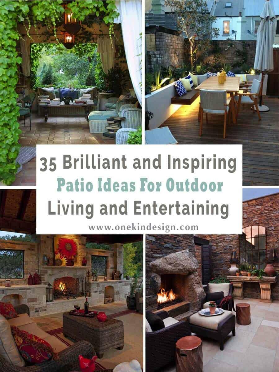 35 brilliant and inspiring patio ideas