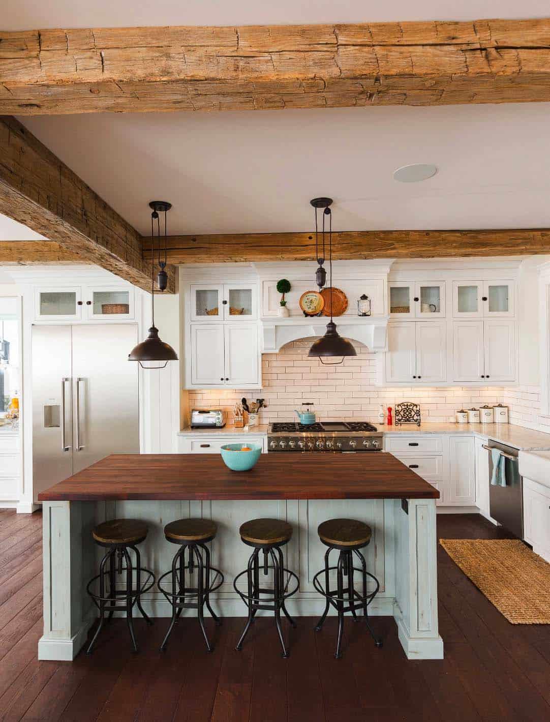 35 Amazingly Creative And Stylish Farmhouse Kitchen Ideas