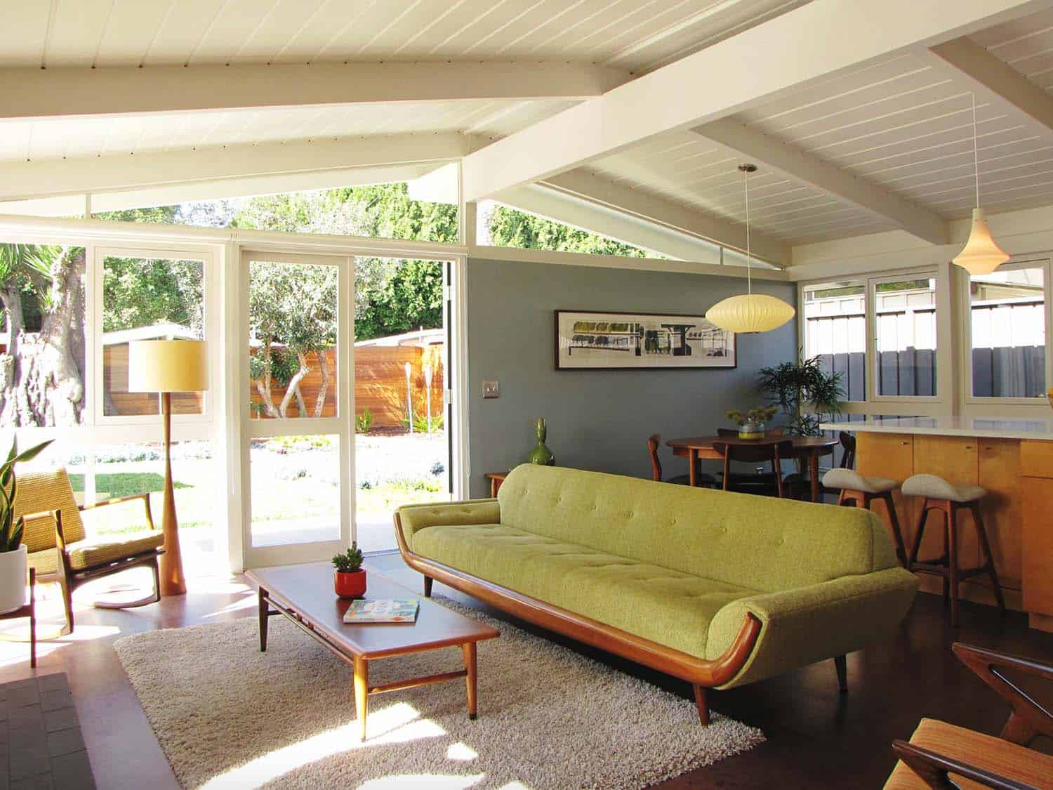 38 Absolutely Gorgeous Mid Century Modern Living Room Ideas
