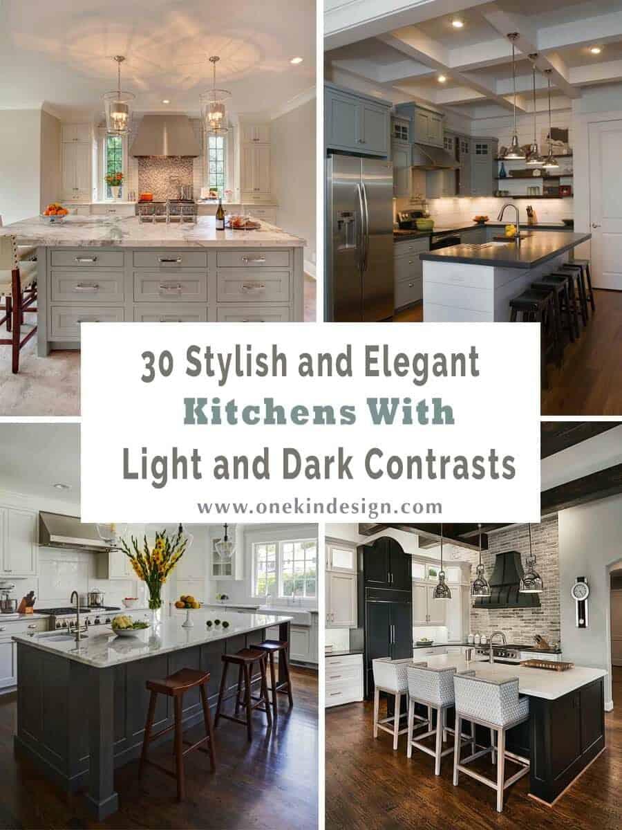 elegant kitchens with light