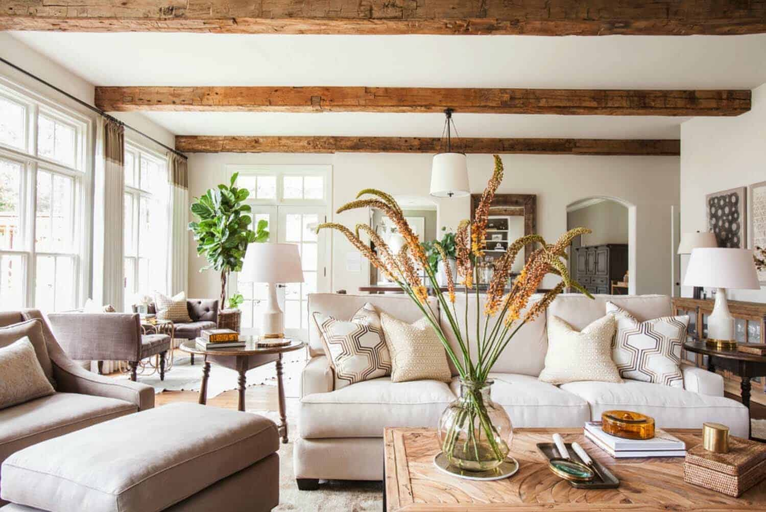 Colonial Style Home In Texas Gets Fresh And Breezy Makeover