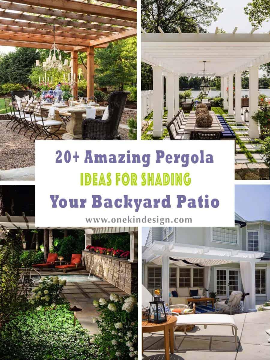 20 amazing pergola ideas for shading