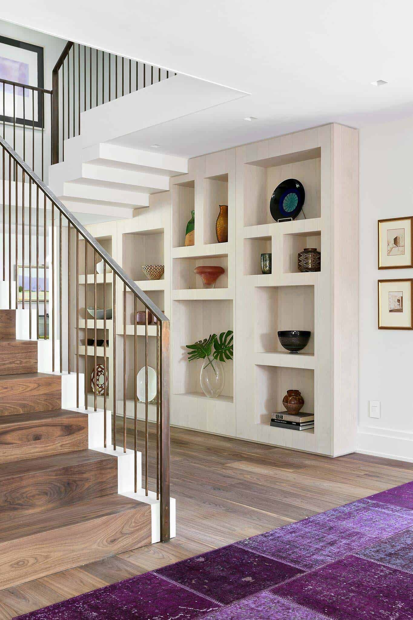 Stunning Renovation Of An English Cottage Style Home In New Jersey | Stairs Style For Home | Creative | Inside | Spiral | Country Cottage | Living Room