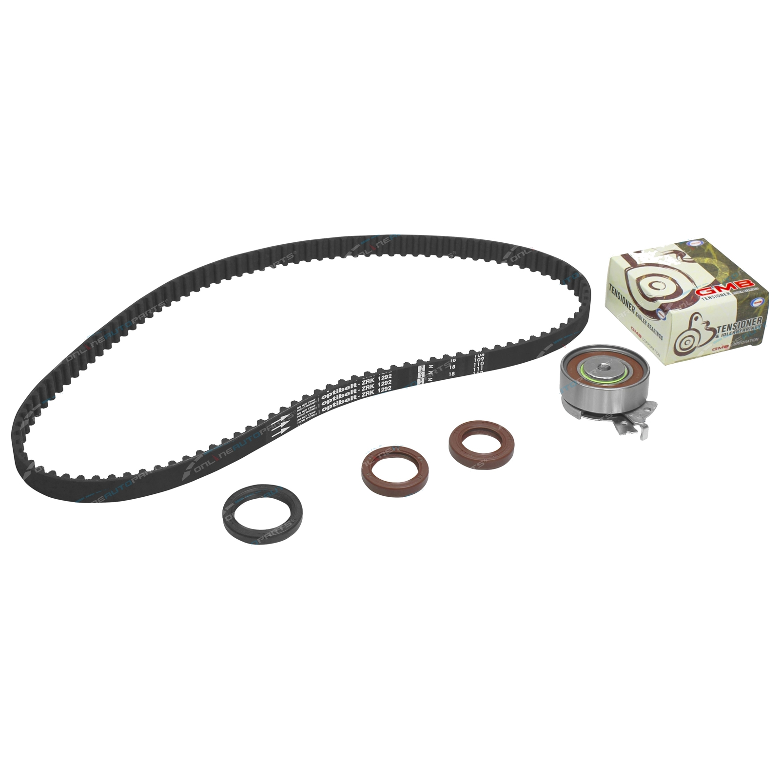 Timing Belt Tensioner Kit Combo Van Sb 4cyl