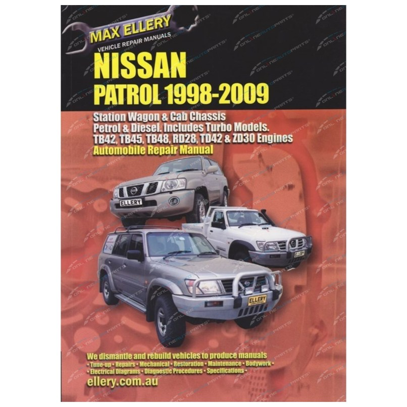 Spare Parts Nissan Patrol Y61 | Reviewmotors co