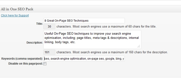 what is on-page seo