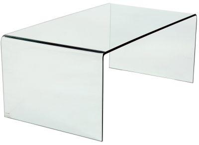simplex rectangular glass coffee table