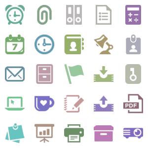Download +19 In The Office Line Icons Packs Free Downloads ...