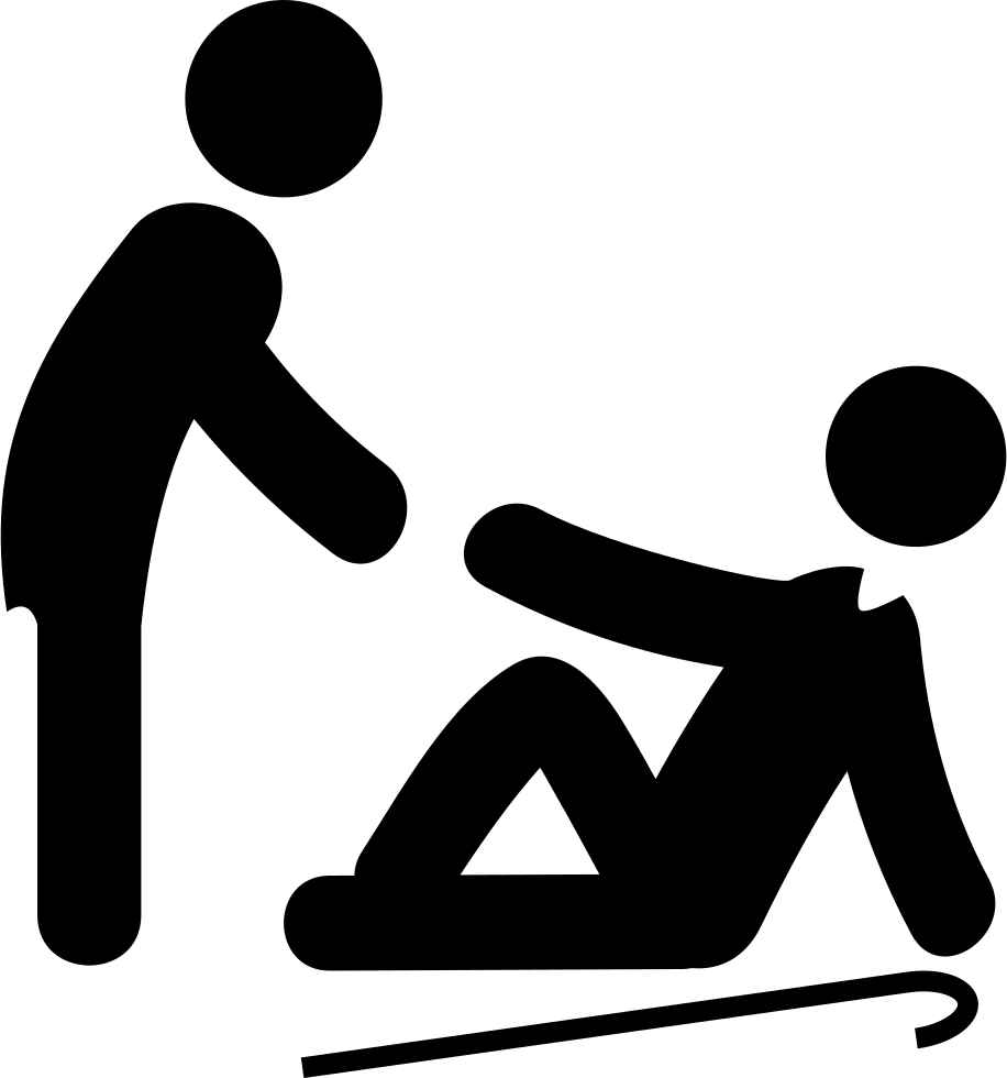 Man Lifting An Old Man Svg Png Icon Free Download 36168