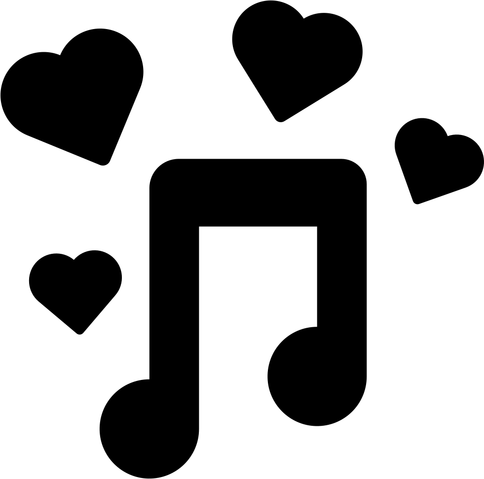 Romantic Music Svg Png Icon Free Download 41568