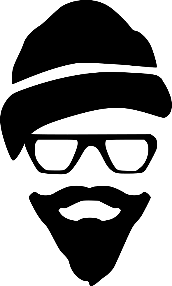 Hipster Glasses Beard Style Svg Png Icon Free Download