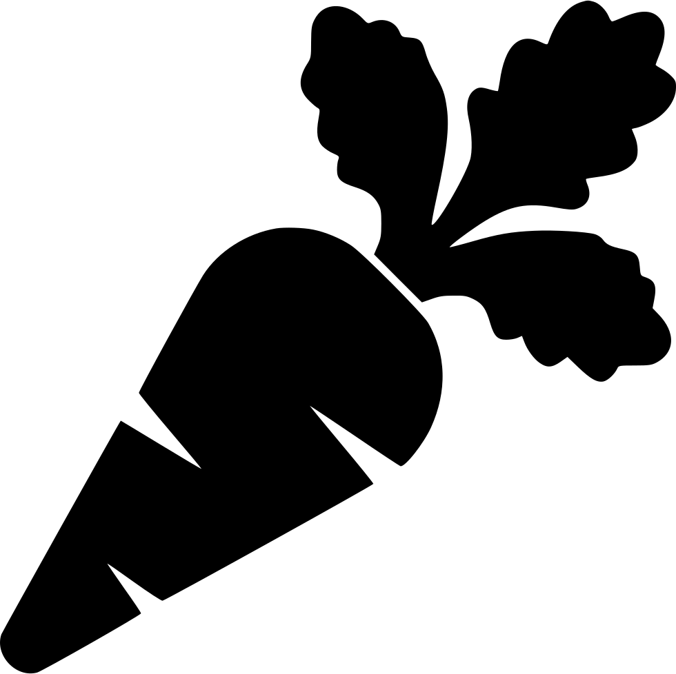Vegetables Clipart Black And White