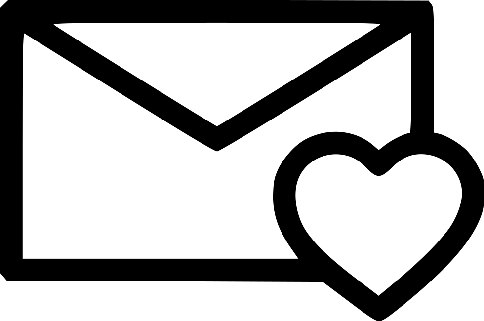 Download Heart Like Love Newsletter Message Svg Png Icon Free ...