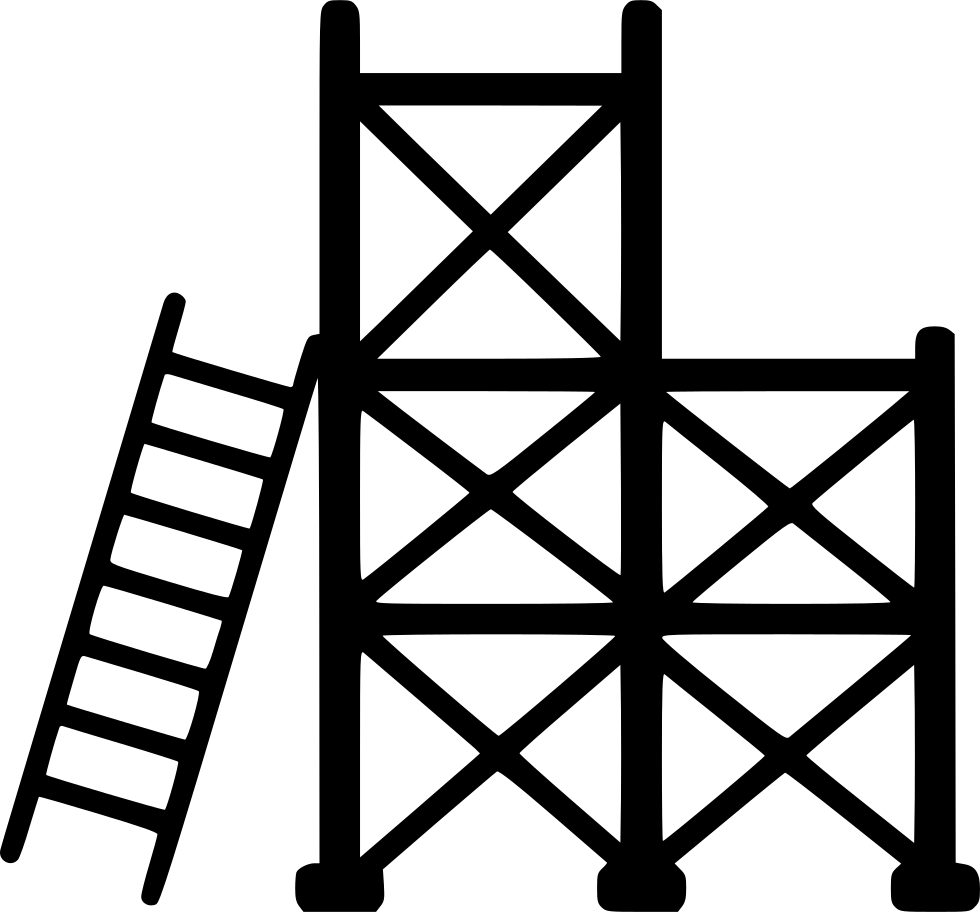 Ladder Scaffold Svg Png Icon Free Download 556936
